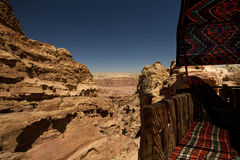 PETRA, Jordanie Photographie stock libre de droits