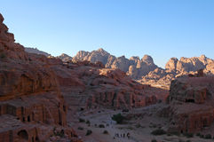 PETRA, Jordanie photo stock