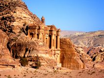 PETRA, Jordanie images libres de droits