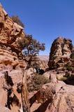 PETRA, Jordanien Lizenzfreie Stockfotos