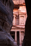 PETRA in Jordanien Stockbilder