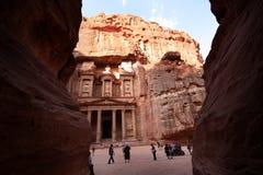 PETRA, Jordanien Lizenzfreies Stockfoto