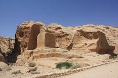 Petra Jordanien Arkivbilder