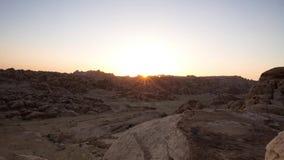 PETRA, Jordanien stock footage