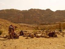 PETRA - Jordanien Lizenzfreies Stockfoto