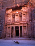 Petra the Khaznet royalty free stock images