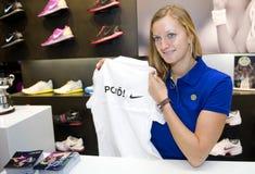 Petra Kvitova Stock Foto
