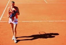 PETRA Kvitova chez Roland Garros 2011 photographie stock
