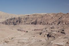 Petra landscape Stock Photography