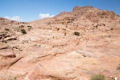 Petra landscape Stock Images