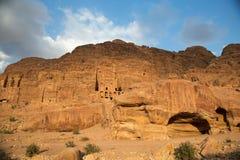 Petra landscape Royalty Free Stock Photos