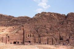 Petra landscape Stock Image