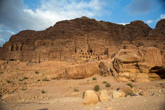 Petra landscape Royalty Free Stock Images