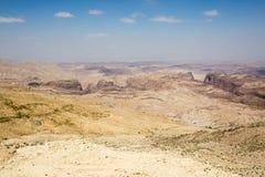 PETRA-Landschaft stockbilder