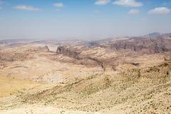 PETRA-Landschaft stockfotografie