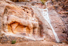 Petra Lion Fountain Stock Images