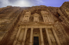 Petra, Lost city of Jordan Royalty Free Stock Images