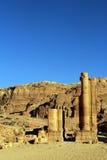 Petra, Lost rock city of Jordan Stock Photo