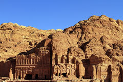 Petra, Lost rock city of Jordan Royalty Free Stock Photo