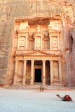 Petra, Lost rock city of Jordan. Petra's temples, tombs, theaters and other buildings are scattered over 400 square miles. UNESCO world heritage site and one royalty free stock photos