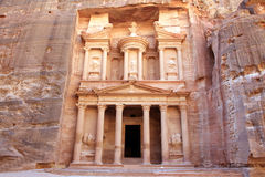 Petra, Lost rock city of Jordan Royalty Free Stock Images