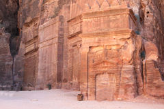 Petra, Lost rock city of Jordan Royalty Free Stock Image