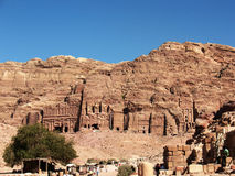 Petra. Lunar landscape Royalty Free Stock Photo
