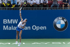 Petra Martic at WTA BMW Malaysian Open Stock Photos