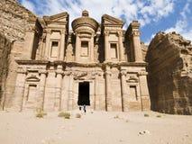 Petra Monastery Stock Image