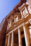 Petra Monastery - side view Royalty Free Stock Image