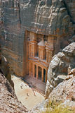 Petra from the mountain Royalty Free Stock Photography