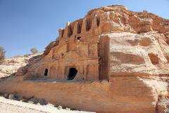 Petra Nabataeans capital city (Al Khazneh), Jordan Royalty Free Stock Photography