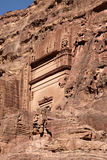 Petra Nabataeans capital city (Al Khazneh), Jordan Royalty Free Stock Photo