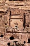 Petra Nabataeans capital city (Al Khazneh), Jordan Stock Image