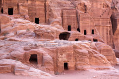 Petra Nabataeans capital city ( Al Khazneh ), Jordan Royalty Free Stock Images
