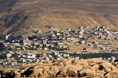 Petra new bedouin village Stock Images