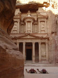 Petra-oude Stad, Jordanië Stock Afbeeldingen