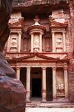 Petra-oude Stad, Jordanië Stock Afbeelding