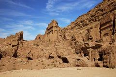 Petra overview Stock Photos