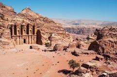 PETRA, parc archéologique, Jordanie, Moyen-Orient Photos stock