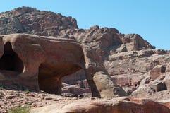 PETRA, parco archeologico, Giordania, Medio Oriente Immagini Stock
