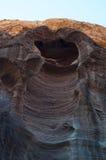PETRA, parco archeologico, Giordania, Medio Oriente Immagini Stock Libere da Diritti