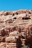 PETRA, parque arqueológico, Jordânia, Médio Oriente Imagem de Stock
