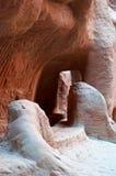 PETRA, parque arqueológico, Jordânia, Médio Oriente Fotos de Stock