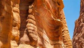 Petra piaskowa ulga Obrazy Stock