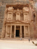 Petra, the pink city of Jordan Stock Images