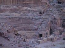 Petra; Raqmu - historyczne ruiny antyczny, rockowy miasto Nabatean Arabians, Ja lokalizuje w południowo-zachodni Jordania Ja jest zdjęcia royalty free