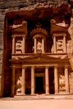 Petra-schatkist Royalty-vrije Stock Afbeeldingen