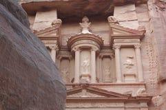 Petra - schatkist Royalty-vrije Stock Afbeeldingen