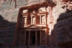 Petra som är arkeologisk parkerar, Jordanien, Mellanösten Royaltyfri Fotografi